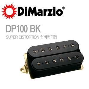 DP100BK SUPER DISTORTION SUPER DISTORTION 험버커픽업