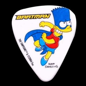 PIC2025-5 Simpsons 0.85mm Pick-#05 Bartman