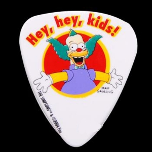 (지엠뮤직) 피크 Simpsons 0.85mm Pick-#04 Hey Hey kids