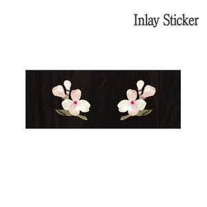 Bridgeside & Knob Floweret-WS (No.110) 악기 스티커