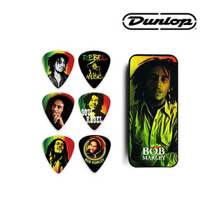 BOBT01M Bob Marley Collectible Pick Tin