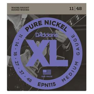 Daddario EPN115 Pure Nickel Blu 011-048 일렉기타줄