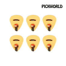 (지엠뮤직) PNK-AC-T Acoustic 6 Picks Refill Pack Thin