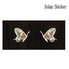 Bridgeside & Knob Butterfly-WS (No.107) 악기 스티커